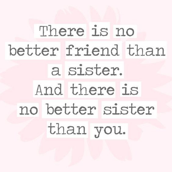 108 sister quotes and