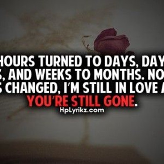 love n missing quotes