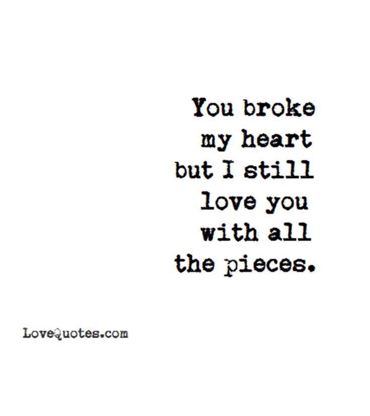 284 Broken Heart Quotes About Breakup And Heartbroken Sayings Page