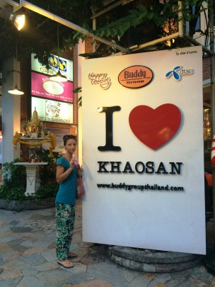 greetings from Khaosan Road