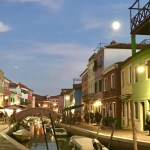 Full Moon in Burano