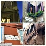 Venezia-nomi calli