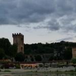 La spiaggetta dell'Arno e Torre San Niccolò