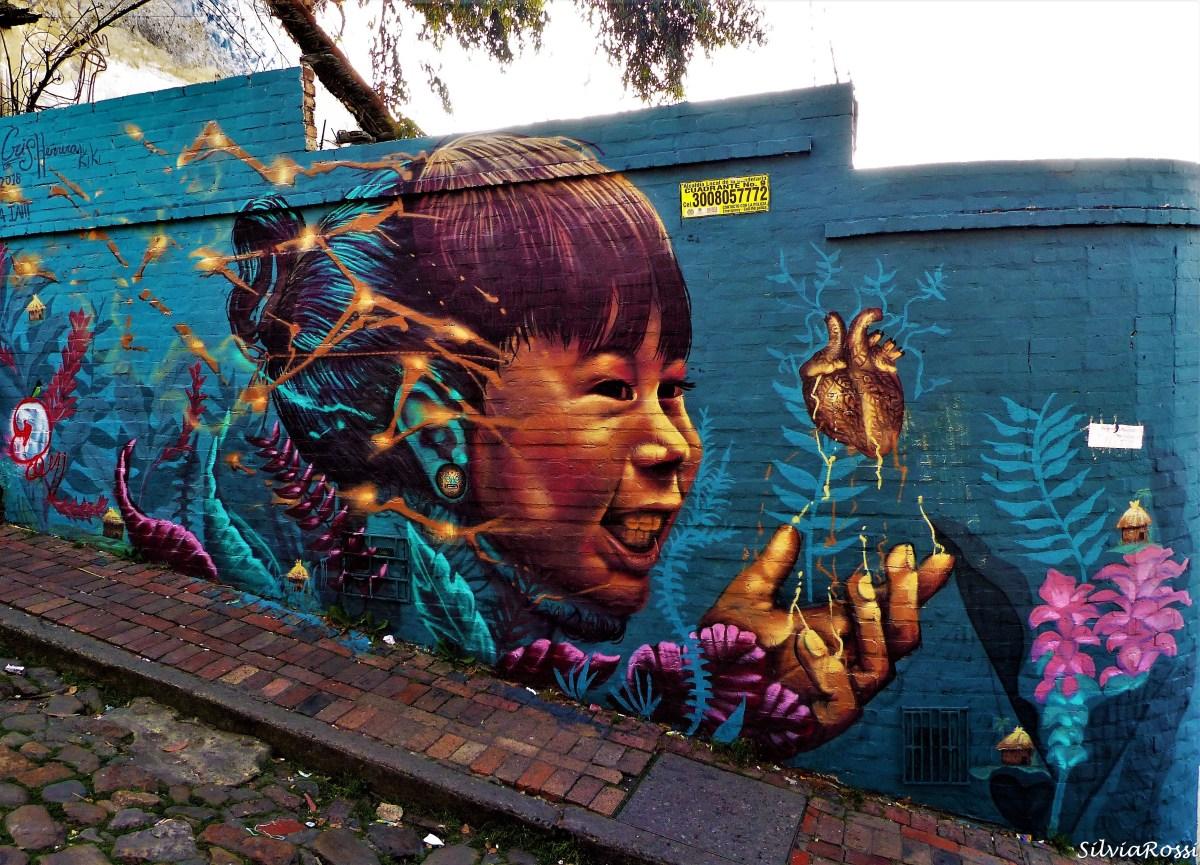 Murales e Street Art de La Candelaria di Bogotà