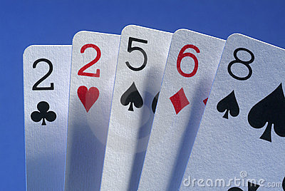 A Bad Hand Stock Image - Image: 5547641