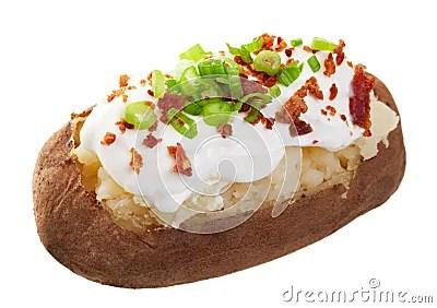 Baked Potato Loaded