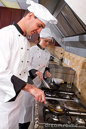 Chefs Cooking Stock Photography - Image: 14985412