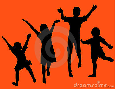 Children Fun Royalty Free Stock Photography - Image: 4769057