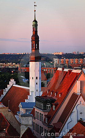 Estonia: Old Town Of Tallinn Stock Photo - Image: 18727550