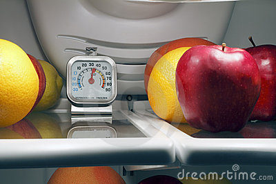Food Temperature Stock Photo - Image: 20130790