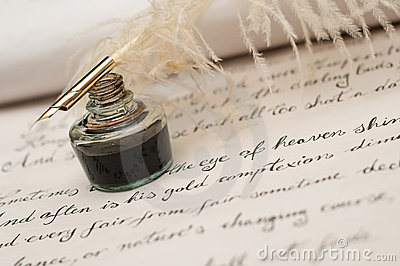 Dreamstime Ink and Quill