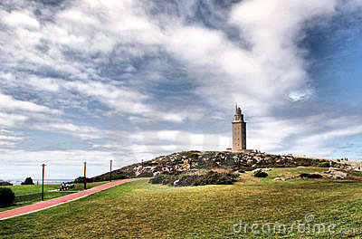 Hercules tower in La Coruna
