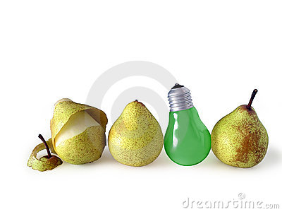 Pears And Lamp