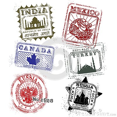 world travel, travel world, visa stamps
