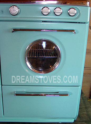 kitchen cook stoves aid.com 1953 37in western-holly double oven in blue