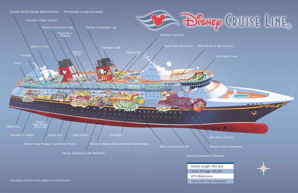 carnival cruise ship diagram 2003 harley radio wiring dream deck plan 2017 2018 2019 ford price