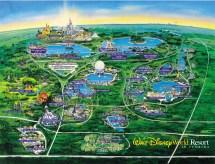 Walt Disney World Maps