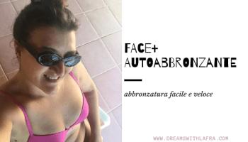 Face+ autoabbronzante: abbronzatura facile e veloce