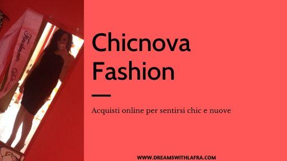 Chicnova Fashion acquisti online per sentirsi chic e nuove