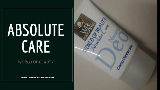 Absolute Care Natural Deo di World of Beauty