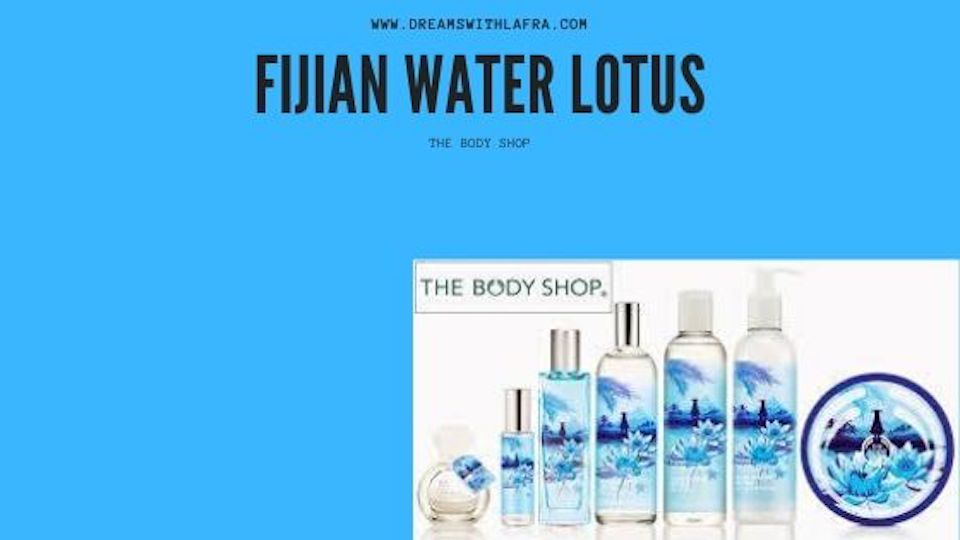 The body shop la linea fijian water lotus
