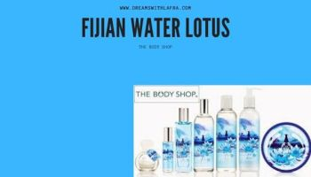 The body shop la linea fijian water lotus