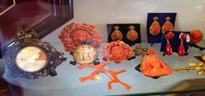 Gioielleria Eredi Jovon - Vendita coralli e cammei