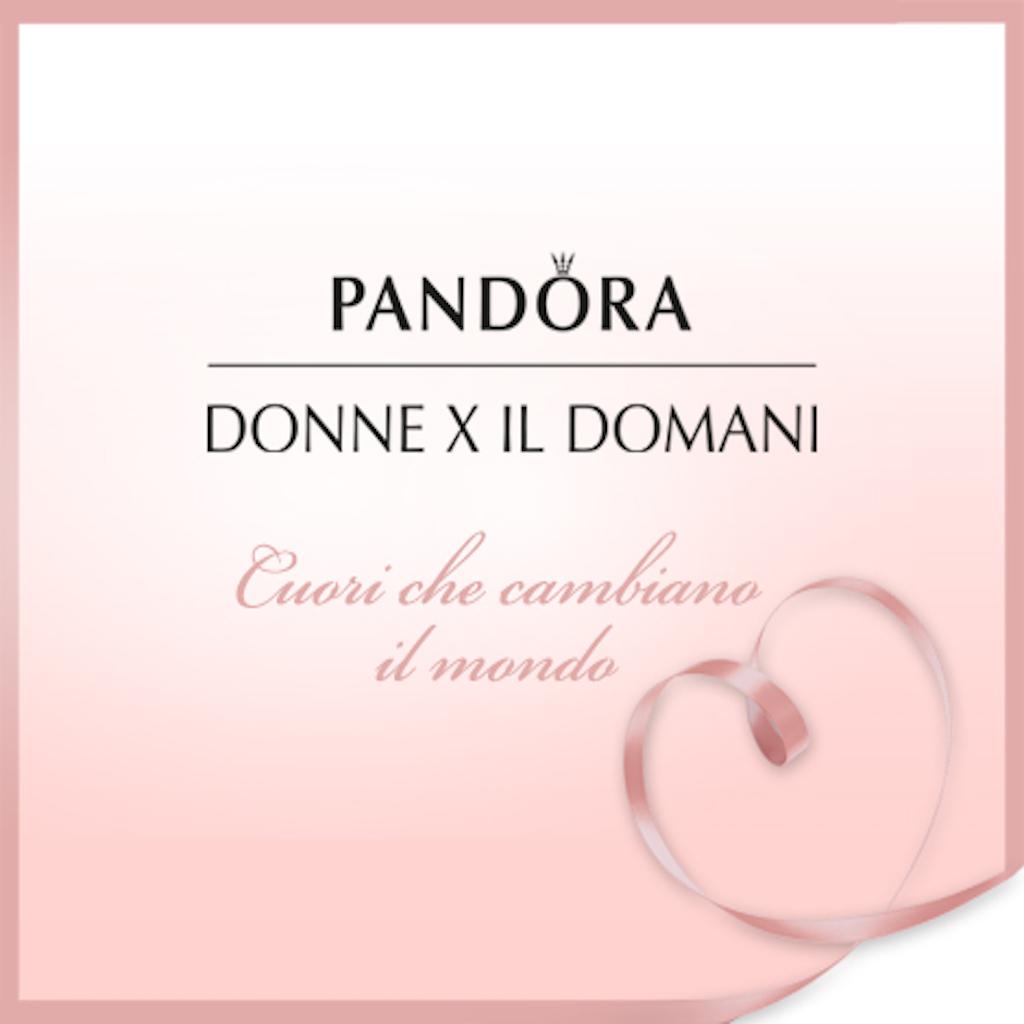 PANDORA DONNE CHE CAMBIANO IL MONDO DONNE X IL DOMANI