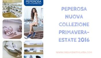 Peperosa collezione primavera-estate 2016