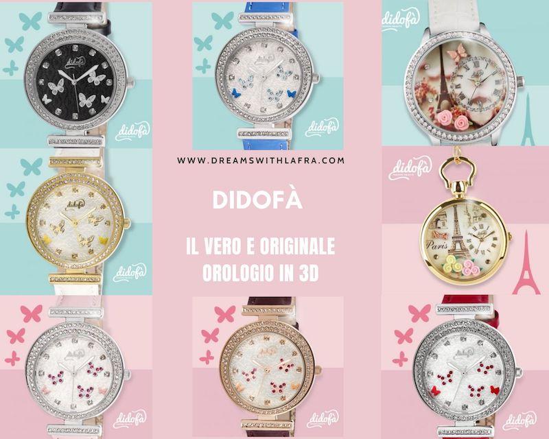 Didofà il vero e originale orologio in 3D