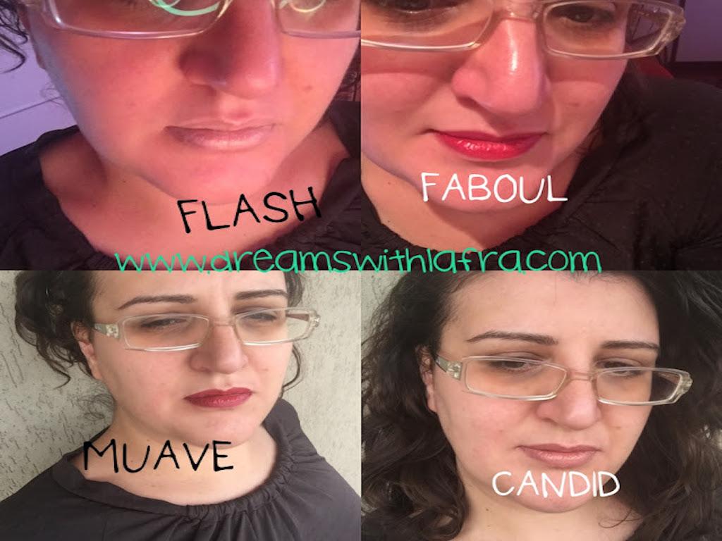 I nuovi Mineral pro Lipstick Make-Up labbra 2016