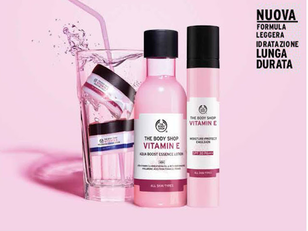 Cosa regalare per la festa della mamma: la nuova linea alla vitamina E The Body Shop