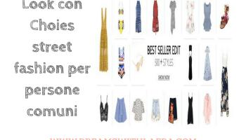 Look con Choies street fashion per persone comuni