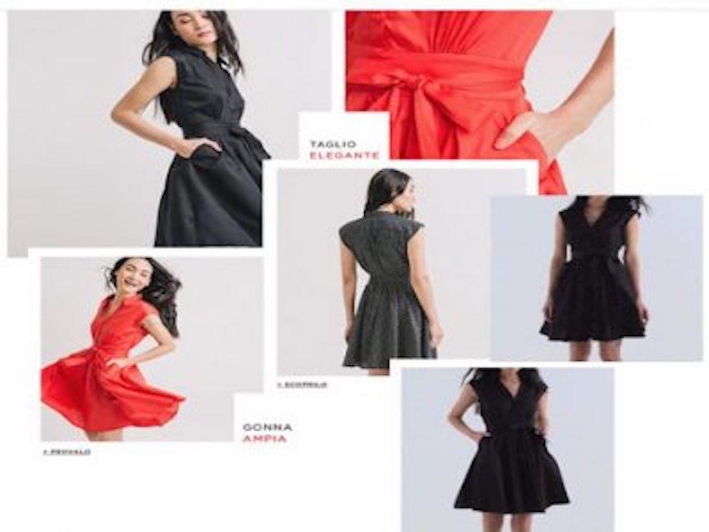 Moda anni 50: il nuovo abito Promod per una donna dinamica e libera