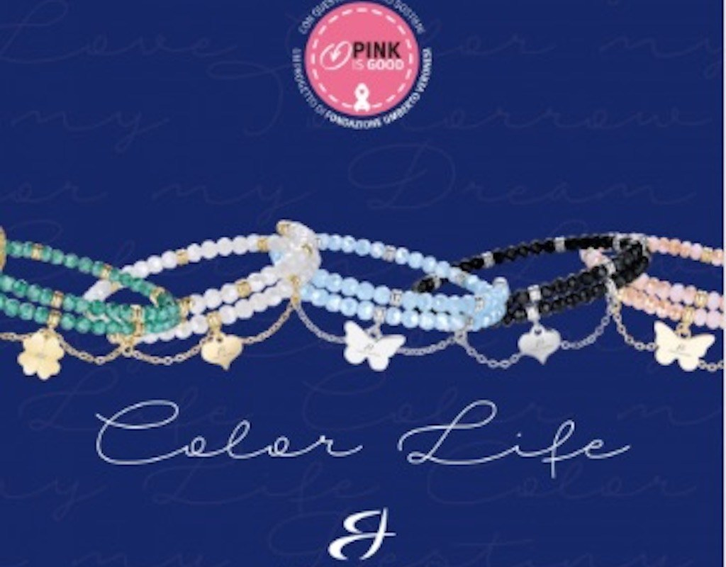 I bracciali Color Life per il Progetto Pink is Good