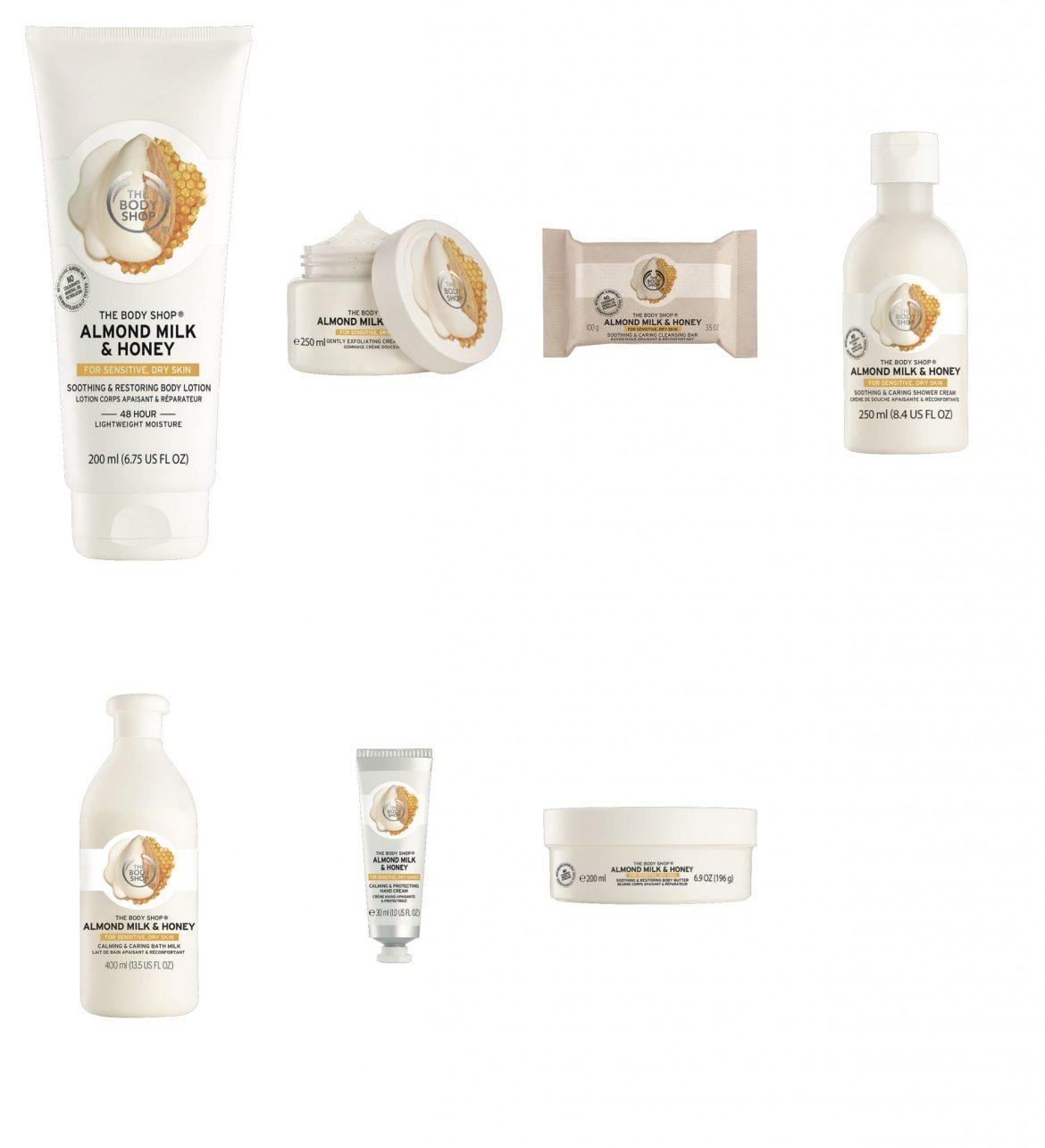 The Body Shop Almond Milk & Honey