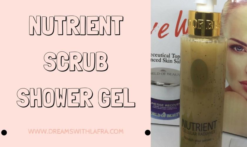 NUTRIENT SCRUB SHOWER GEL