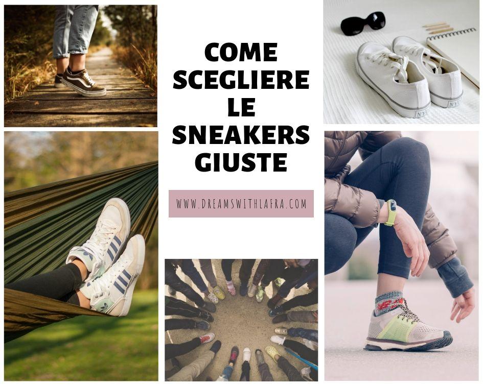 Come scegliere le migliori sneakers in base al proprio stile