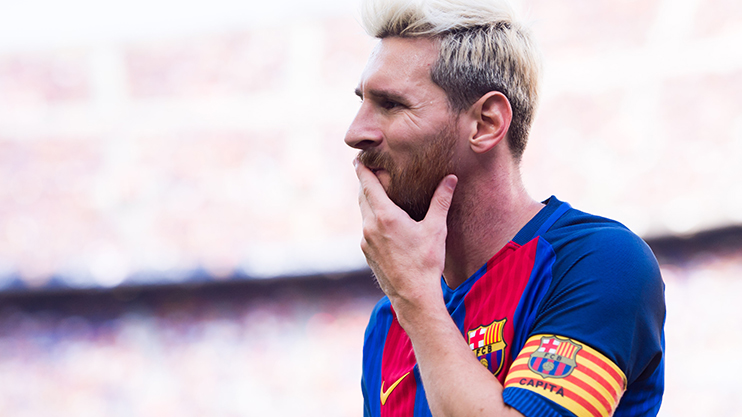 Lionel Messi reveals why he dyed his hair blonde