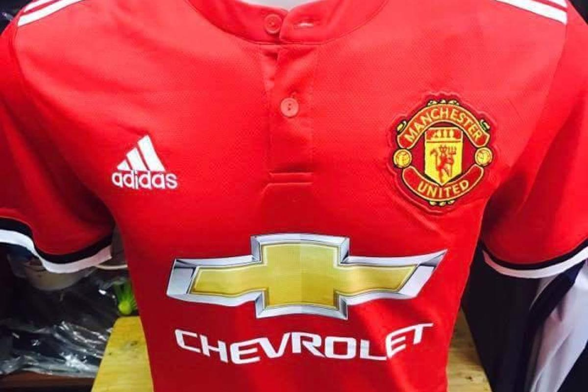 08f86aa5de6 Has Man United s 2017-18 home shirt been leaked on internet ahead of the  big reveal next month