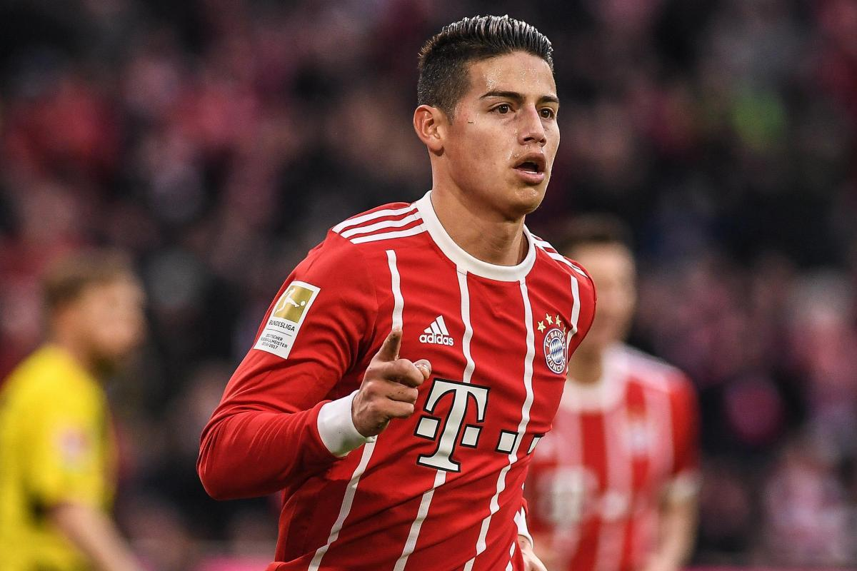 Bayern Munich To Pay Bargain 37m Fee To Sign Real Madrid S James Rodriguez Permanently