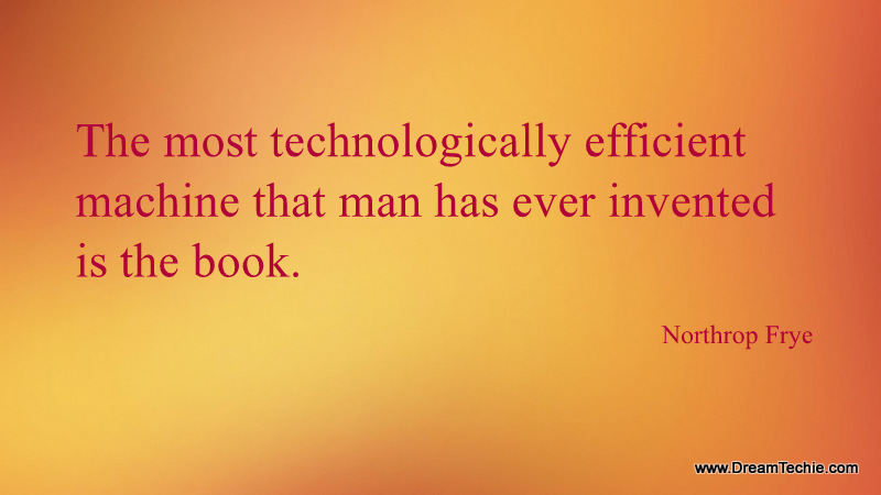 Technology quote image