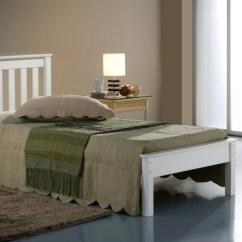 Next Day Sofa Delivery Light Brown Leather Tufted Birlea Denver Bed Frame
