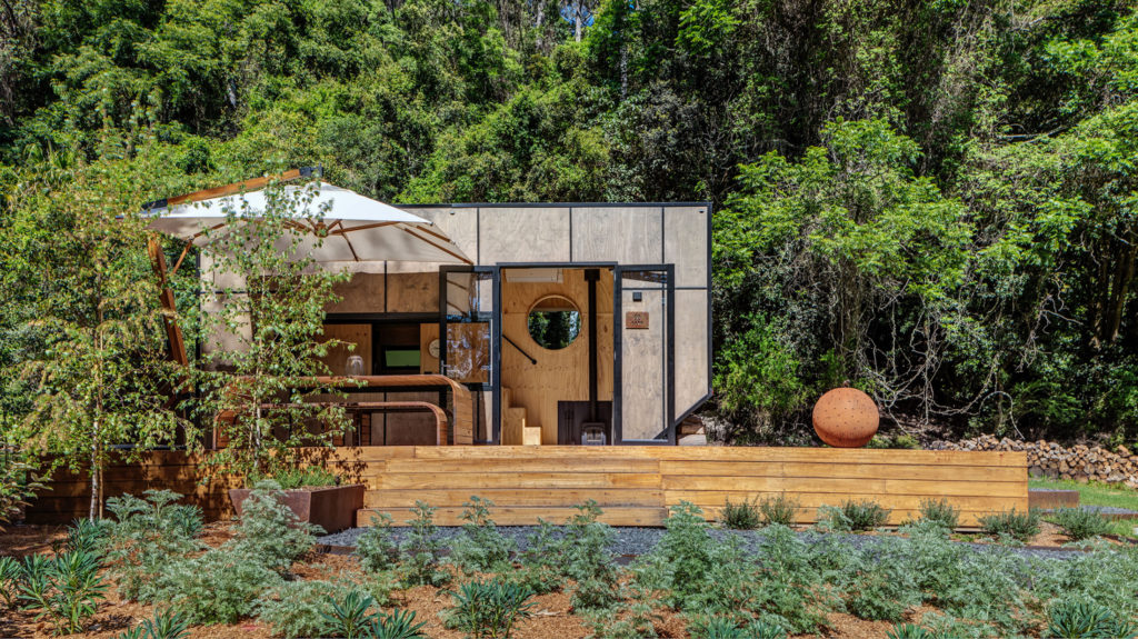 Tiny House To Get Away From Technology