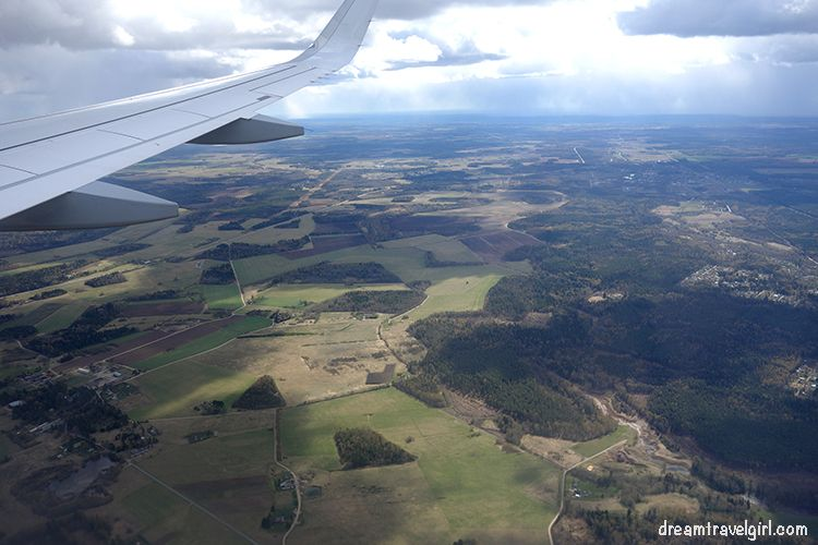 landing in Estonia in my first travel alone