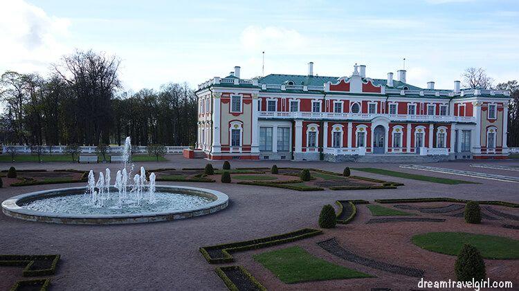 Kadriorg palace and garden