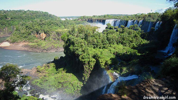 Iguazú Falls from the upper trail