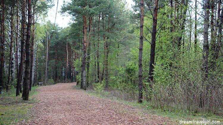 Tervisepark, the health park in Kuressaare