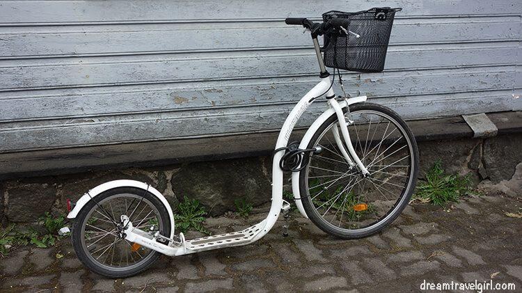 a bike (?)