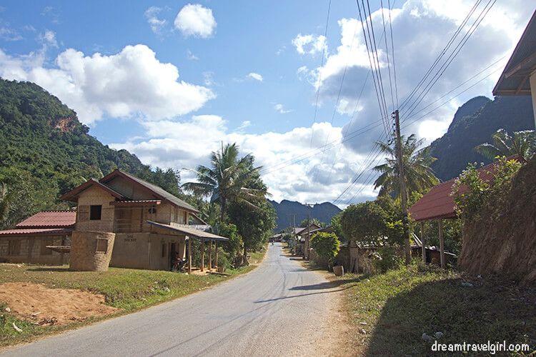Nong Khiaw, northern Laos